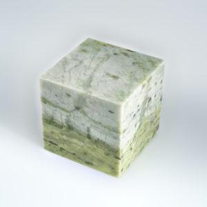 Куб офиокальцит  4,5-5 см