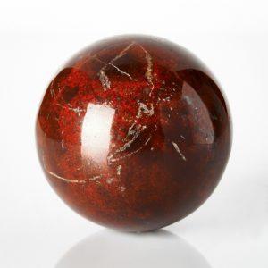 Шар яшма красная  5 см
