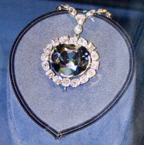 Знаменитые алмазы Алмаз «Хоупа» (44,5 карат)