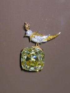 Знаменитые алмазы Желтый Алмаз Тиффани (287 карат)