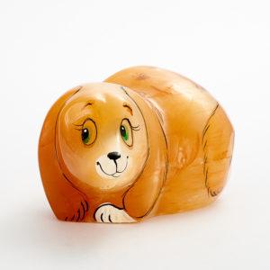 Собака селенит  6 см