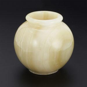 Горшок оникс мраморный  11,5х12 см