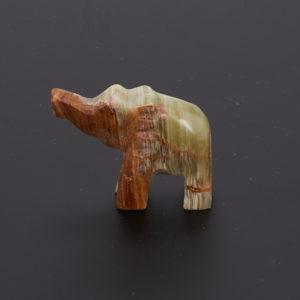 Слон оникс мраморный  5 см
