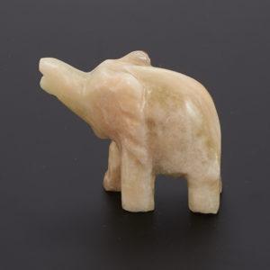 Слон оникс мраморный  8 см
