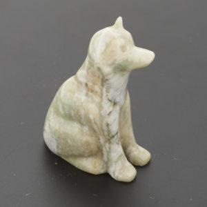 Собака офиокальцит  5,5 см