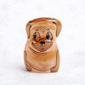 Собака селенит  5 см