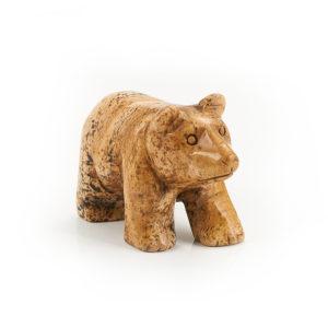 Медведь яшма рисунчатая  5 см