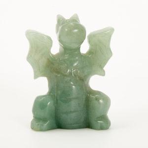 Дракон авантюрин зеленый  5 см