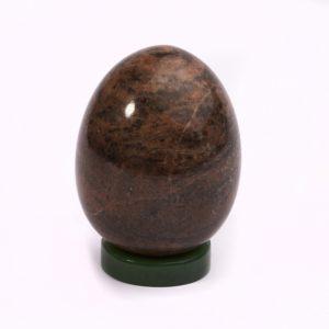 Яйцо на подставке родонит   5,5 см