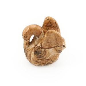 Лебедь яшма рисунчатая  5 см