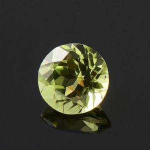 Огранка хризолит  круглая 4 мм