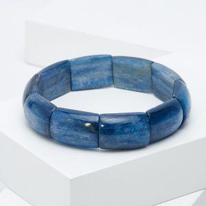 Браслет кианит синий  19 см