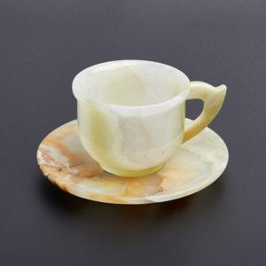 Чайная пара оникс мраморный
