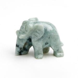 Слон жадеит  3,5-4 см