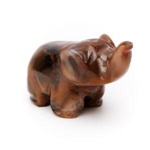Слон агат  5,5 см