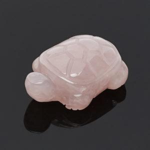 Черепаха розовый кварц  3 см