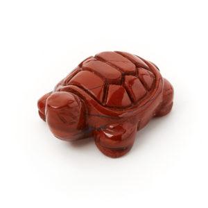 Черепаха яшма красная  3 см