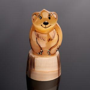 Медведь селенит  8 см