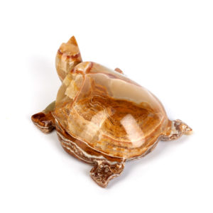 Черепаха оникс мраморный  12 см