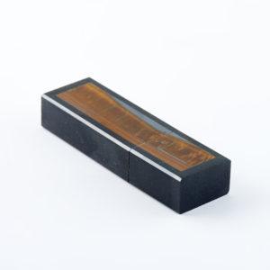 USB-флеш-накопитель долерит, тигровый глаз 16 Гб