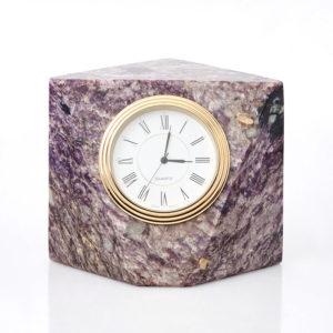 Часы чароит  8х10,5 см