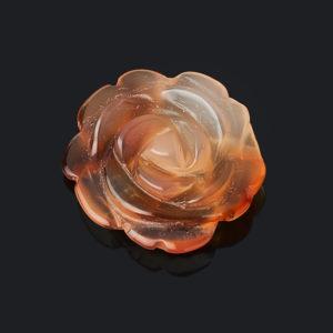 Пуговица сердолик  2 см